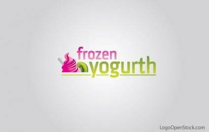 free vector Frozen Yogurt Logo