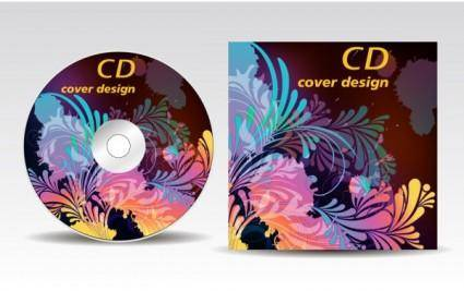 Attached cdrom disc case 01 vector