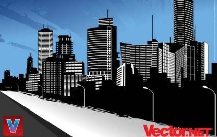 free vector Vector City Skyline Art