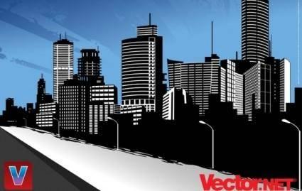free vector Vector City Skyline Art