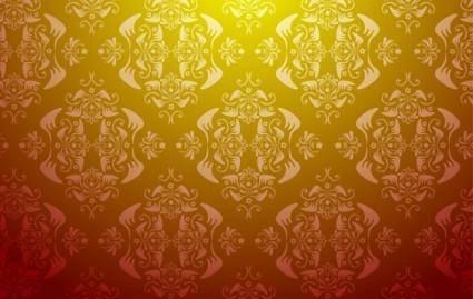 free vector Seamless vector wallpaper