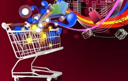 free vector Shopping cart