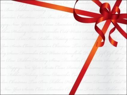 free vector Holiday Ribbon