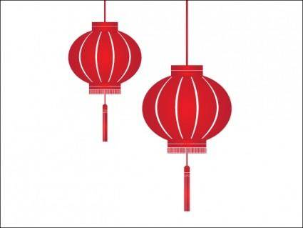 free vector Red Lantern