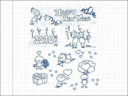 Alfred Doodle Set 14