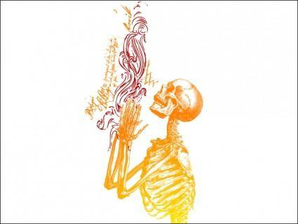 Praying Skeleton