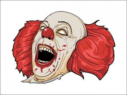 free vector Evil Clown
