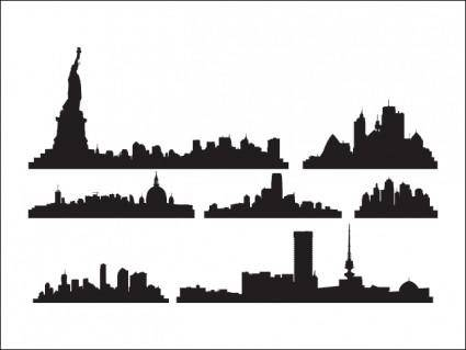 free vector Skylines