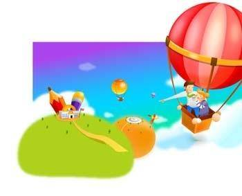 free vector Aerial Balloon 3