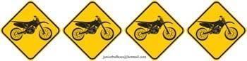 free vector Motocross Signboard