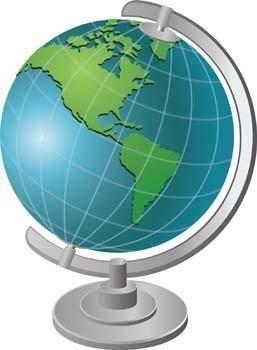 free vector Globe 2