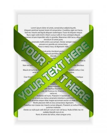 free vector Green indicates threedimensional label 03 vector