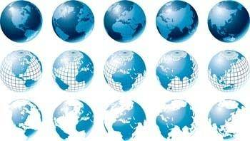 Globe Vector 17