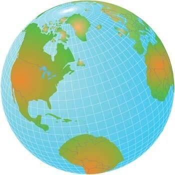 free vector Globe Vector 11