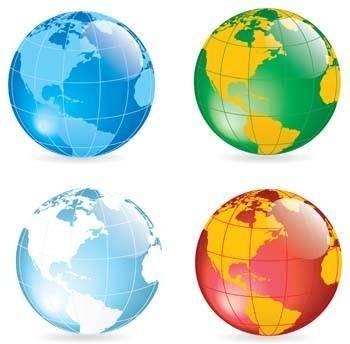 Globe Vector 19