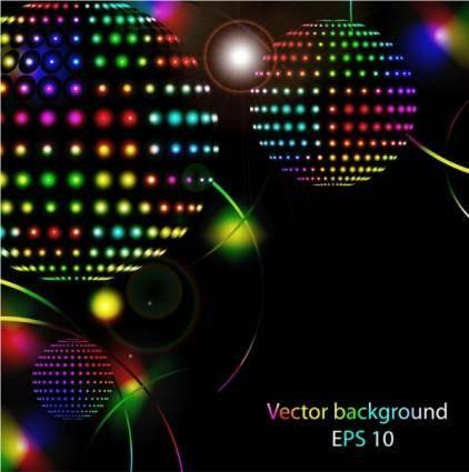 Star bright neon lights vector