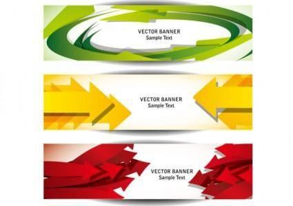 free vector Beautiful long card 05 vector