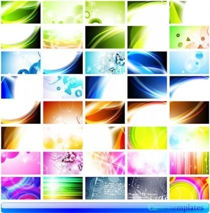 Beautiful beautiful card 01 vector