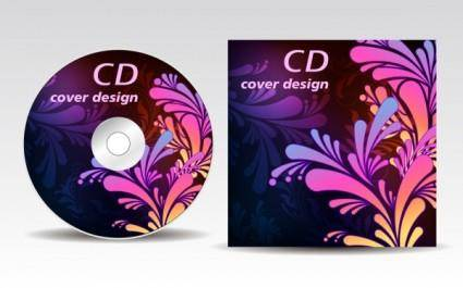 free vector Attached cdrom disc case 02 vector