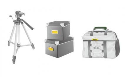 Photographyrelated equipment vector