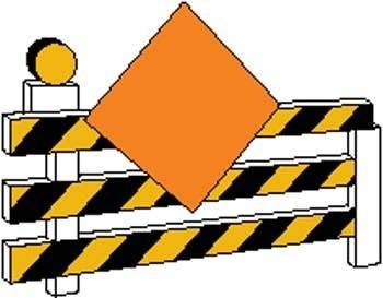 Under Construction Sign Board Vector