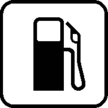 Gas Station Sign Board Vector