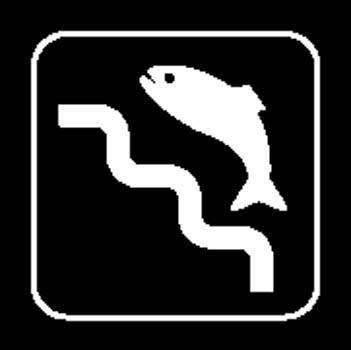 Fishing area Sign Board Vector