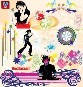 free vector Music & Nightlife Flyer Vector Design Elements