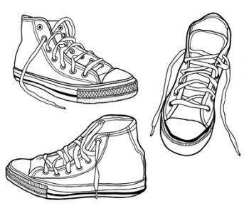free vector Sneakers Vector