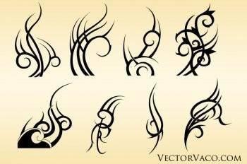 free vector Adobe illustrator tribal vectors ai