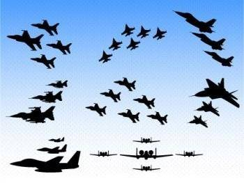 free vector F16 fighter aircraft air show vector, aircraft vector ai, us air force vector, f16 air force, f16 vector ai