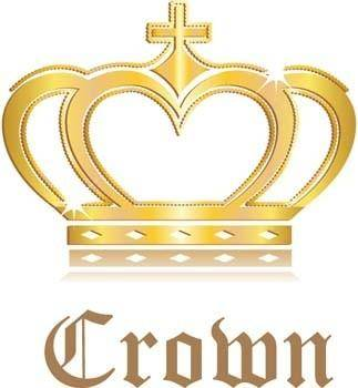 free vector 3d king and queen crown vector, crown ai vector, photoshop crown design illustrator ai