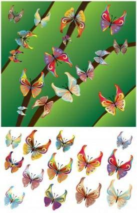 Beautiful Butterflies Vector Design, Butterfly Vector Adobe Illustrator
