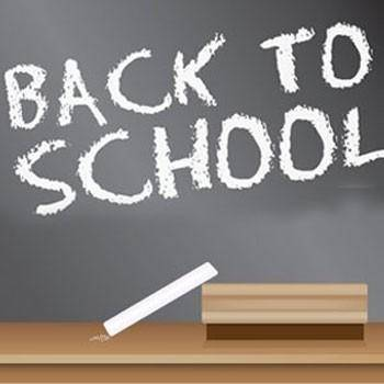 free vector Back To School Blackboard Sign