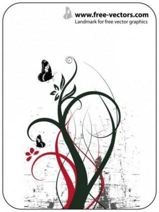 free vector Nature Ornaments Vector Design, Adobe Photoshop Nature Ornament