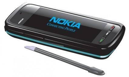 free vector Nokia 5800 Vector