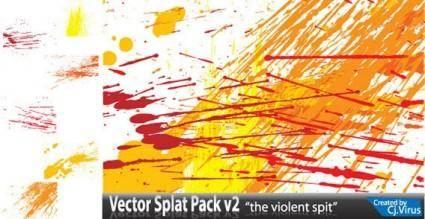 free vector Splatter vector