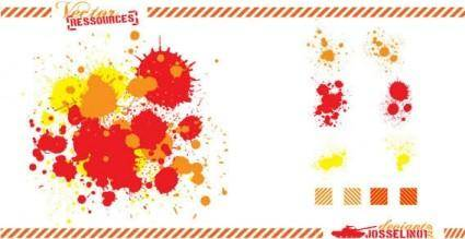 free vector Splatter vector