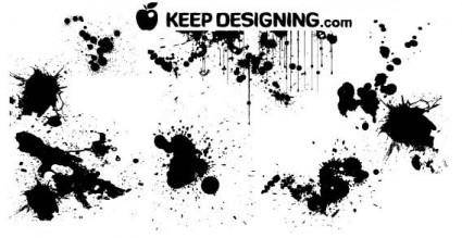 free vector Paint splatter vector