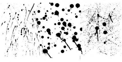 free vector Ink splatter
