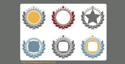 free vector Vector ornaments frames