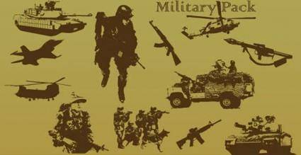 free vector Military vector pack
