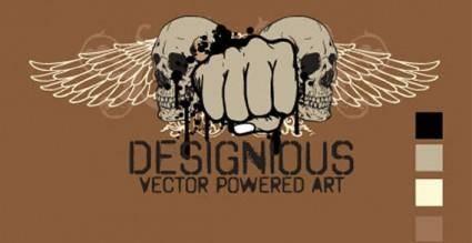 free vector Free t-shirt-design vector
