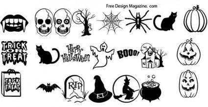 free vector Halloween vectors