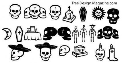 Skull vectors