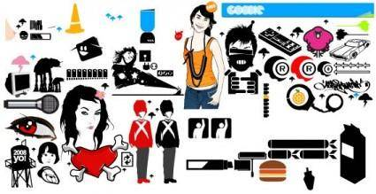Goodies vector