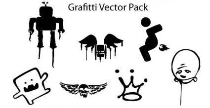 Graffiti free vector pack