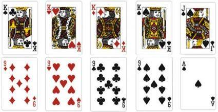 free vector Playing cards vector