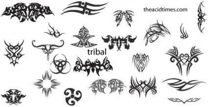 free vector Tribal vectors