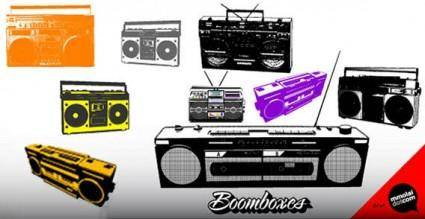 free vector Music systems